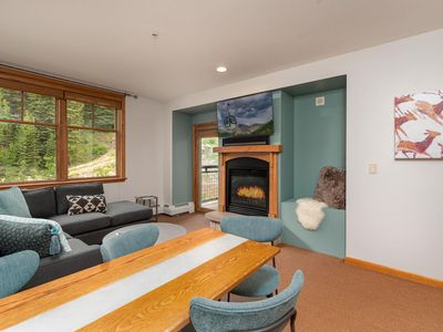 Photo for NEW EVERYTHING!   Quiet Condo Right @ The Base   Ski In\Ski Out   Two Hot Tubs + More