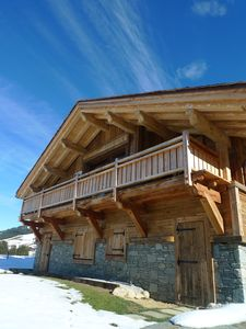 Photo for RAVISSANT CHALET WITH SUPERB VIEW ON THE MOUNTAINS