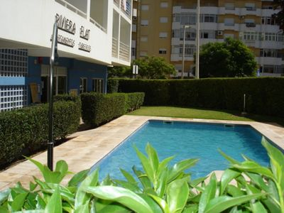 Photo for Nice Apartment with Pool , Balcony, Air Con 15 minutes from beach great location
