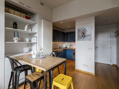 Photo for Bright Duplex Residence - Brussels Bourse City Center