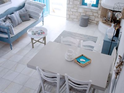 Photo for Four Winds Paros - Stylish Island Villa with pool