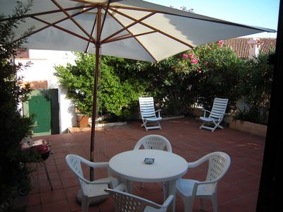 Photo for Villa with garden in the historic center - La Maddalena