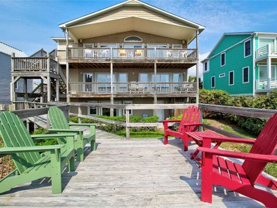 Photo for Brigadoon: 5 BR / 3.5 BA single family home in Kure Beach, Sleeps 14