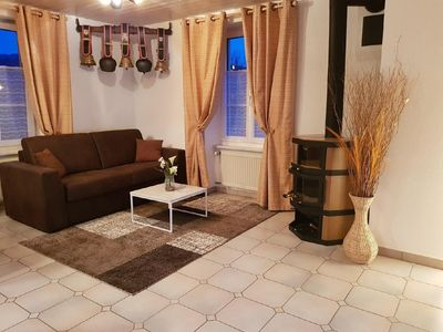 Photo for Holiday apartment Courcelon for 1 - 5 persons with 2 bedrooms - Holiday apartment in a farmhouse