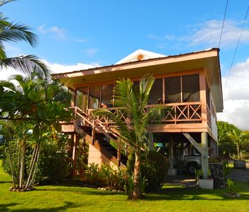 Photo for Beachfront Bungalow In Playa Hermosa, Steps From the Sand!