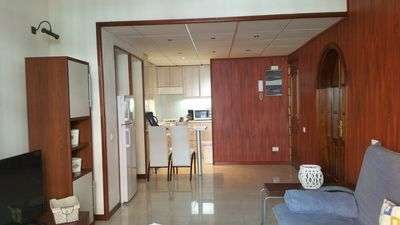 Photo for Seafront flat in Las Canteras Beach