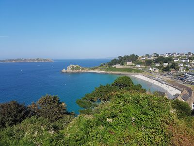 Photo for On the coast of GRANIT ROSE apartment in PERROS-GUIREC