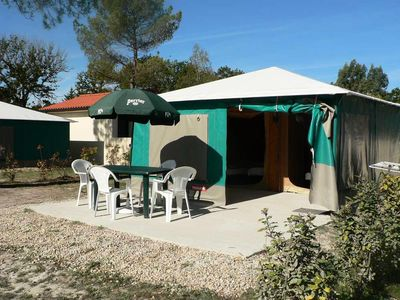 Photo for Camping Le Tastesoule **** - Bengali Toile 3 Rooms 4 People