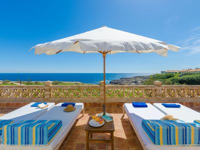 Photo for CAN ROSITO - Chalet with sea views in Cala Morlanda.