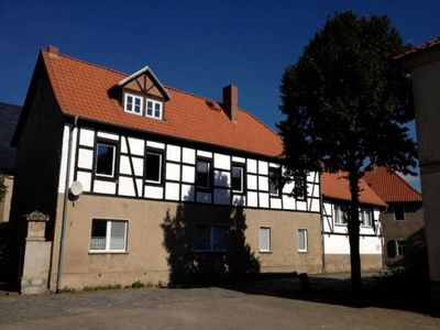 Photo for Holiday apartment Ballenstedt for 4 - 8 persons with 4 bedrooms - Historical building