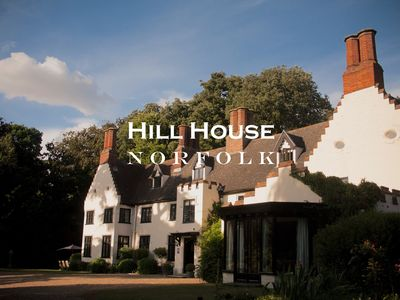 Photo for Our extraordinary Tudor Manor House for get-togethers and events.