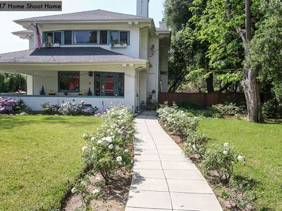 Photo for Gorgeous prairie style home set in the foothills of historic Pasadena