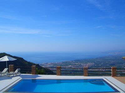 Just one of the stunning views from the villa