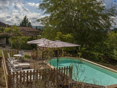 Photo for Charming Holiday Home in Pul-l'Eveque with Private Pool