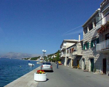 Photo for Three bedroom apartment with terrace and sea view Povlja, Brač (A-710-a)