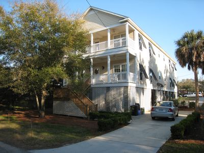 2005 built , 1800 sq ft 3 br, 2.5 ba on 2 lvls with 2 porches and parking.