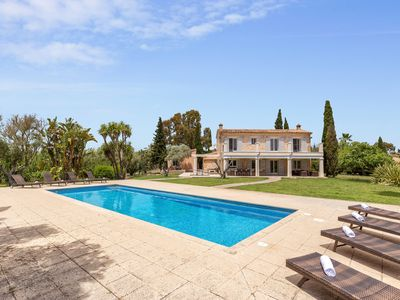 Photo for Finca Canyamel (010714) - Country house for 10 people in Canyamel