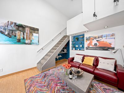 Photo for Architecturally Designed Urban Little Italy Loft