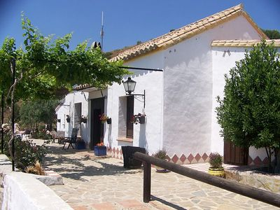 Photo for Authentic house, within the castle walls of holiday park Finca el Moralejo