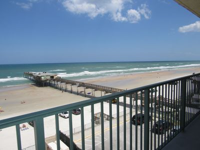 Photo for Great Views from this Oceanfront Unit at Sun Glow #503
