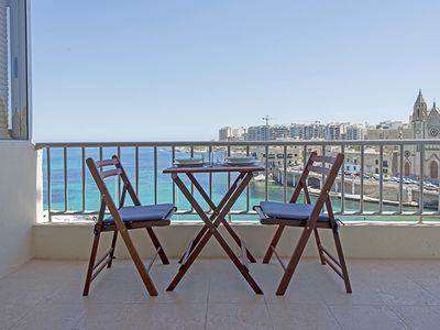 Photo for St Julians Seafront Apartment