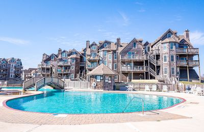 Photo for BIS207 Located in Duck, Oceanfront, Amazing Views, Next to Huge Pool