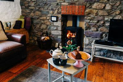 Log Burning Stove for cosy nights in