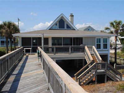 Photo for High Flying: 5 BR / 3.5 BA house in Pawleys Island, Sleeps 12