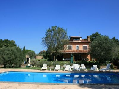 Photo for 6 bedroom Villa, sleeps 14 in Corchiano with Pool and WiFi