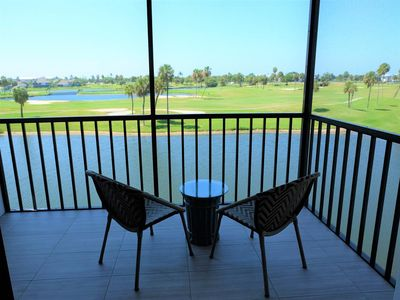 Photo for Beautiful 1 BED / 1.5 BATH Condo with Stunning Golf Course and Lake Views!