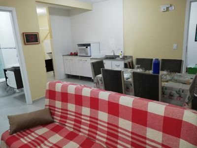 Photo for Complete Apt with Kitchen on the Beautiful Central Beach Armação