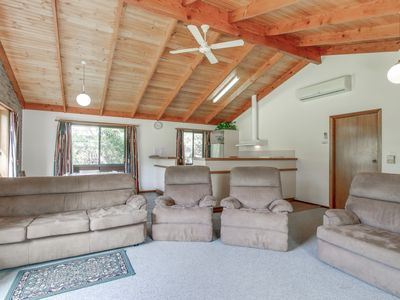 Photo for A solid brick home located in a quiet street, with Eastern Beach and the Golf Course a short walk