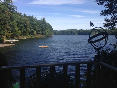 Photo for Lakefront Property with Spectacular View in the Lower Catskills