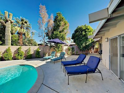 Photo for TurnKey - 4BR Contemporary w/ Two Separate Wings & Private Pool—Near El Paseo