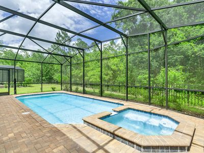 Photo for Modern 8BD Home With Private Pool Near Disney World