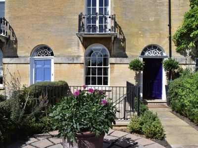 Photo for Beautiful Georgian Terrace House in Stamford,  home of  Burghley Horse Trials.