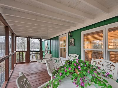 Photo for NEW! 'Brady's Fish Camp' in Hiawassee w/ Boat Dock