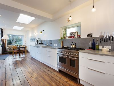 Photo for A grand 4 bed house with stunning garden in a lovely North London (Veeve)