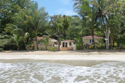 Located Directly on the beach! Steps from the Caribbean Sea!