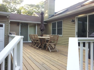 Photo for Pristine East Hampton Getaway! Walk to Private Beach! Huge Outdoor Shower!