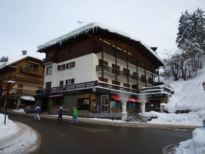 Photo for Charming one bedroom apartment in the center of Megeve, walk everywhere!