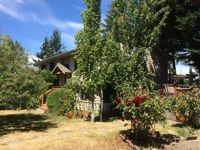Photo for Quiet 2br with large yard on a cul de sac. There is regular bus service nearby.