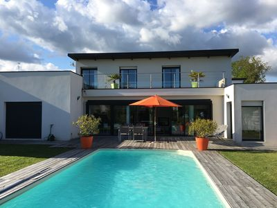 Photo for Very beautiful contemporary house located 7 mins walk from the port of Vannes