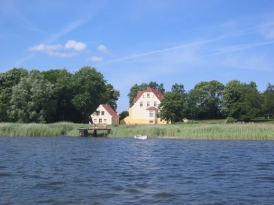 Photo for Apartment 5 Gut Grubnow Rügen directly on the water for 4 persons