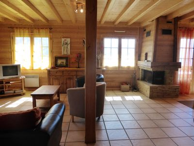 Photo for Homerez last minute deal - Big chalet with sea view and terrace