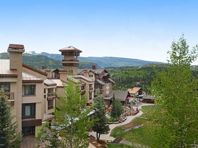 Photo for NEW LISTING! Ski-in/out condo w/ shared pool, hot tubs, gym &private balcony