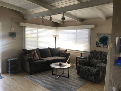 Photo for Amazing beach rental..... steps away from the 16TH Street beach entrance.