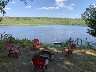Photo for Forest Lake House close to trail and boat launch