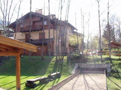 "Photo for Holiday apartment ""Palazzina Sole - Trilocale"" (CIPAT number: 022064-AT-061767) with Wi-Fi, Mountain View and close to the ski lifts; Pets allowed for a fee"