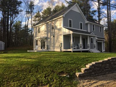 Photo for Brand new luxury home steps from Kennebunkport's Dock Square and the beaches.